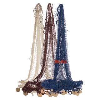 Fischernetz groß 180 x 180 cm  blau