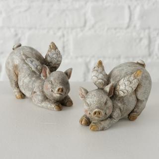 Figur Snoksy ,Set, 2-tlg. Schwein