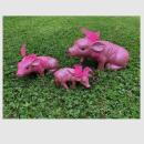 Glücksschweinchen Set, 3-tlg. groß