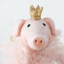 Schweinchen Set Standfiguren Pigdy, 2-tlg.