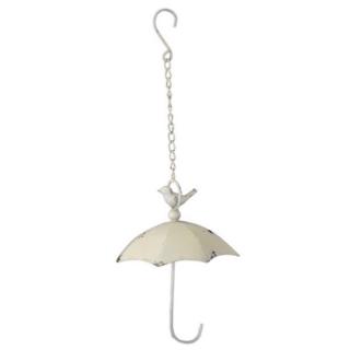 Meisenknödelhalter Schirm zum Hängen, Höhe 29 cm